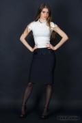 Недорогая черная юбка | 123-ventus