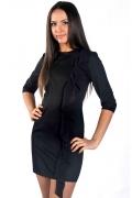 Чёрное платье Donna Saggia