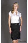 Стильная чёрная юбка | 129-katrin
