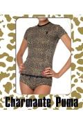 Леопардовая футболка Charmante 181008