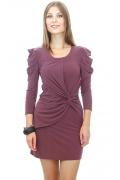 Короткое трикотажное платье | DSP-17-22t