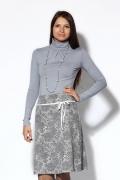 Светло-серая юбка | 2570