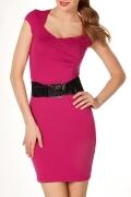 Платье цвета фукция | П98-1106