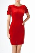 Платье из мягкого бархата | П126-234