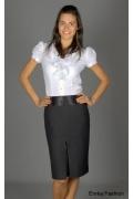 Офисно-деловая юбка Emka Fashion | 174-venzea