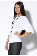 Белый женский джемпер   3569