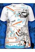 Мужская футболка Skull-Robot