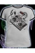 Мужская футболка Future sound (Светится в ультрафиолете)