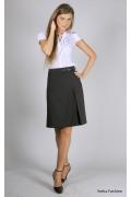 Чёрная прямая юбка | 265-bella