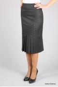 Недорогая юбка оригинального кроя | 257-berta