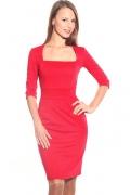 Красное платье Donna Saggia | DSP-28-29t