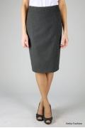 Недорогая юбка серого цвета | 271-jennifer