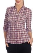 Женская рубашка в клетку   Б794-1363