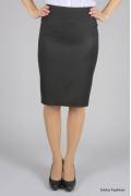 Черная зауженная юбка Emka Fashion | 264-nobi