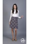 Клетчатая юбка Emka Fashion | 119-stacatto3