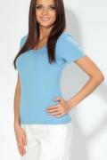 Женская футболка голубого цвета | 3597/1