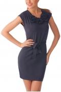 Синее платье Golub | П136-1459