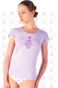 "Женская футболка ""Sweet Lady"" Abili LVS-1206"