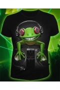 Клубная мужская футболка Crazy Frog