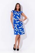 Летнее голубое платье 2012 | 1661