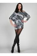 Модная туника с рукавом летучая мышь | 0271