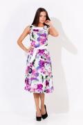 Цветное летнее платье | 1664