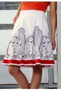 Летняя юбка Emka Fashion | 297-aza