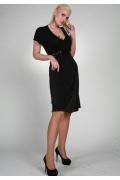 Черное платье Chertina&Durre | 9947