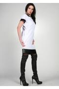 Дизайнерское платье белого цвета | 0159