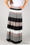 Длинная юбка в полоску | 302-rita