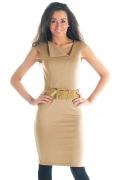 Платье с косым вырезом горловины | DSP-50-24t