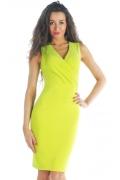 Потрясающее платье цвета лайм | DSP-56-32t