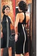 Черное коктейльное платье V&V | 1303.2