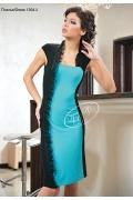 Асимметричное платье V&V | 1304.2