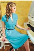 Платье от V&V голубого цвета | 856/1.2