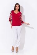 Блузка Remix красного цвета | 3590