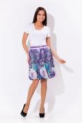 Летняя фиолетовая юбка Remix | 2581