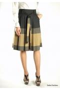 Элегантная юбка Emka Fashion с поясом | 247-martina