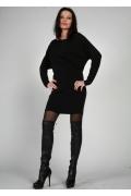 Короткое черное платье | 0012