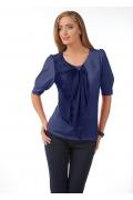 Синяя блузка Golub | Б830-1545-1574