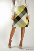Клетчатая юбка Emka Fashion | 270-adina