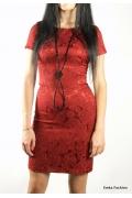 Маленькое красное платье | 279-bordo