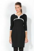 Черное-белое платье Remix | 1723