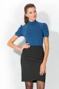 Блузка синего цвета | 3608/2