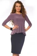 Трикотажная блузка Donna Saggia | DSB-17-22t