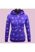 Фиолетовая женская толстовка Fizio | 462 ф