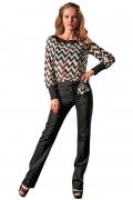 Черно-белая блузка | Б849-1652-1265