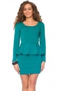 Платье из плотного трикотажа | DSP-59-19t