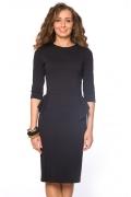 Черное платье на молнии | DSP-61-4t