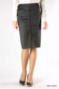 Черная офисная юбка | 324-liana